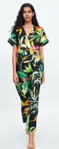 Zara tropical jumpsuit s XS.
